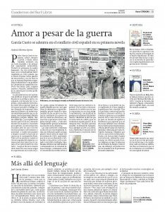 'La primavera de nuestro desencanto' en la revista 'Cuadernos del Sur'.