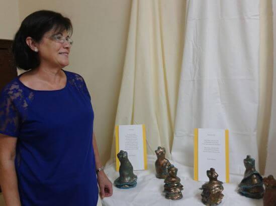 Rosa Gamero, autora de Ediciones Atlantis