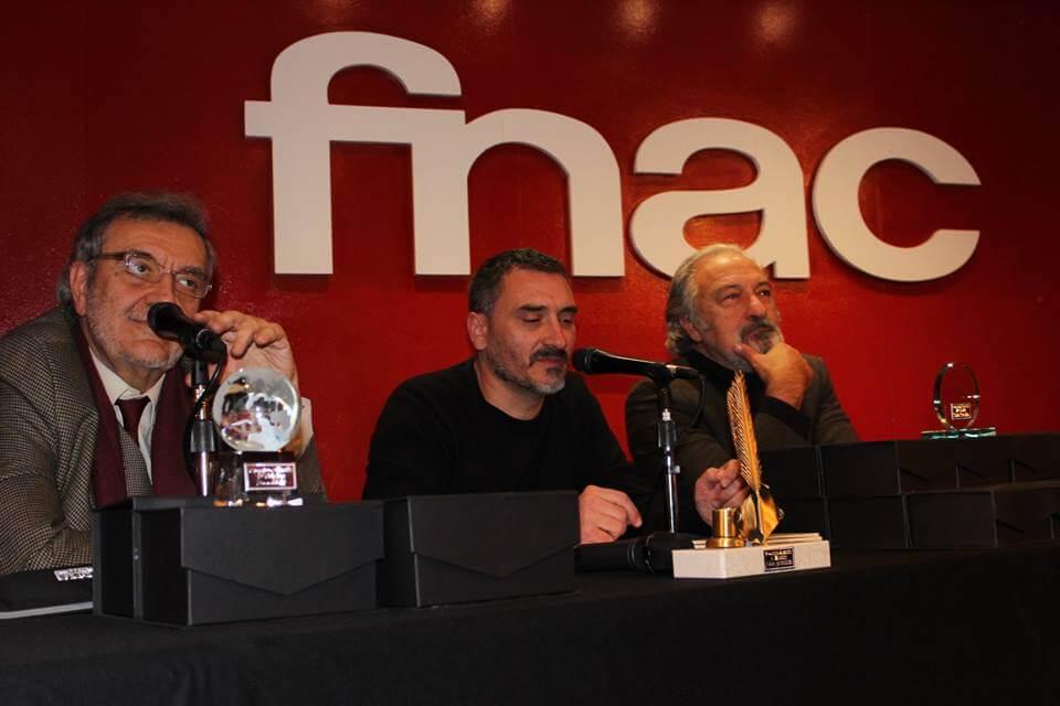 J.D Álvarez, Emilio Porta y José Luis Muñoz