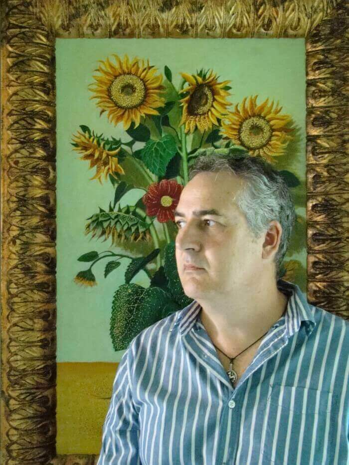 Adolfo Amado López, autor de 'Siberius'.