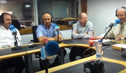 Gabriel Felix Antonio y Carlos en Radio Inter