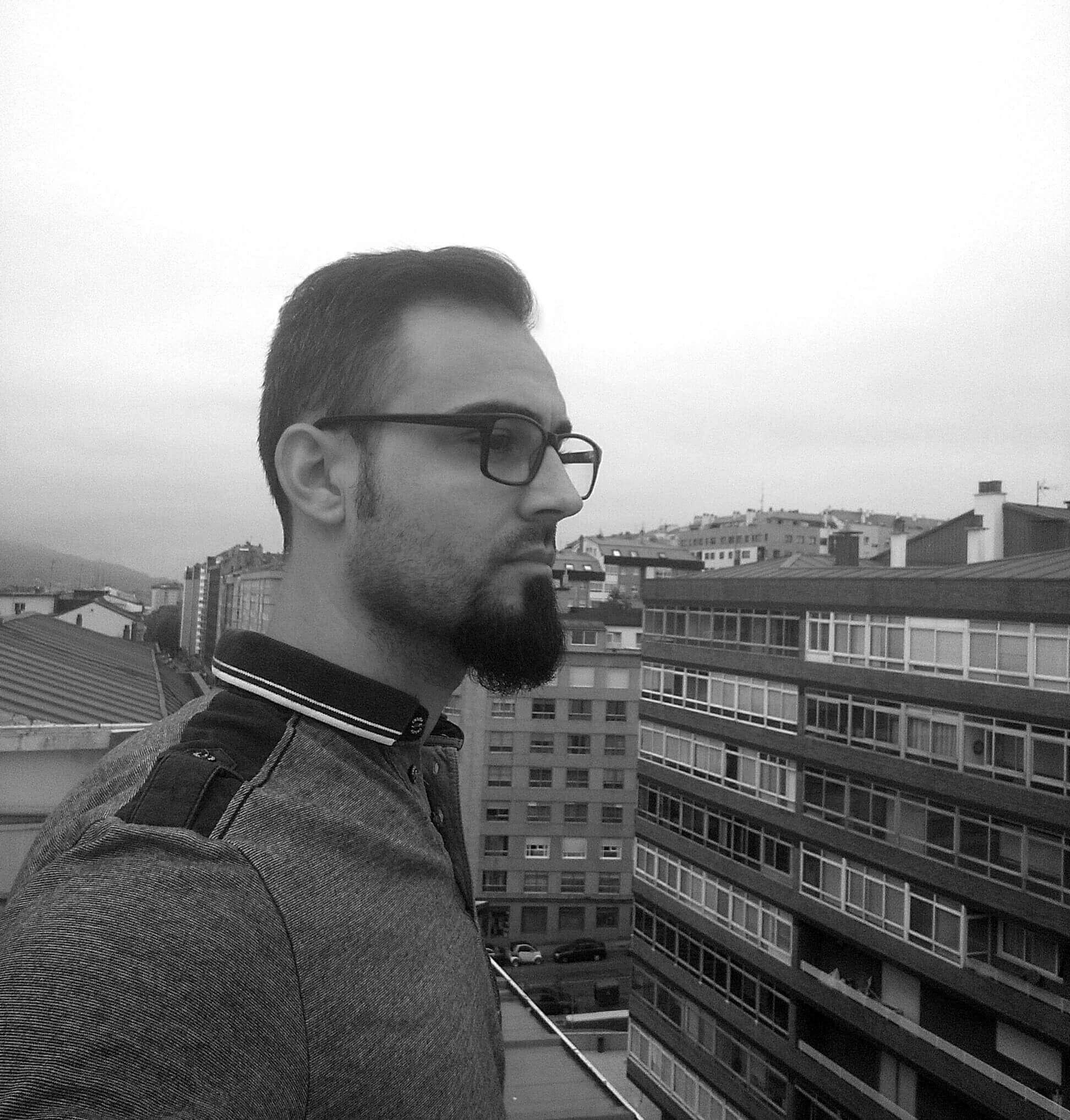 Iago Tallón Álvarez, autor de Advenimiento a Radiantis