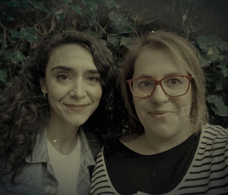 Itziar López y Noelia Pastor, autoras de Ediciones Atlantis