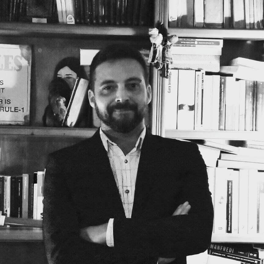 José Manuel Luque Correa, autor de 'Las Palabras del Metal'