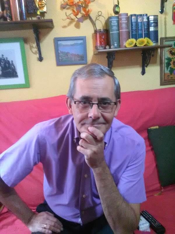 José Vicente Ruiz Paños, autor de 'Lo inolvidable'