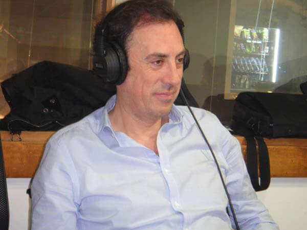 Julio Holgado en Radio Inter.