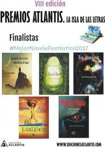 Finalistas a mejor novela fantástica