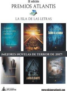 Mejores novelas de Terror de 2017