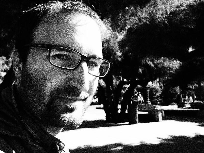 Pablo José Barrecheguren, autor de 'Medianoche sobre las ruinas'