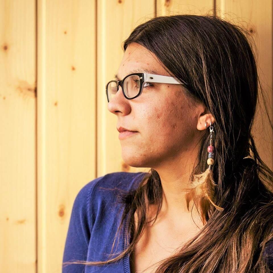 Paula Marco, autora de El Pico de las Brujas
