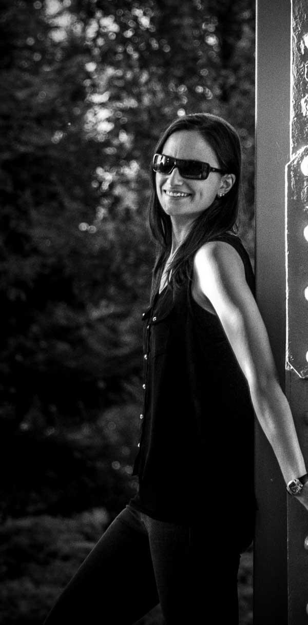 Paula Olmedo, autora de 'Juego de mentes'