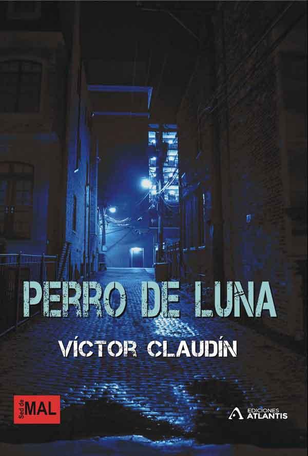 Perro de luna, una obra de Victor Claudín
