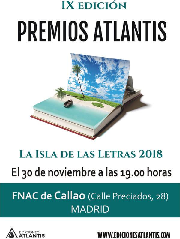 Cartel de la IX edición de los Premios Atlantis.