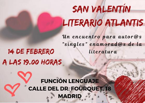 San Valentín Literario Atlantis