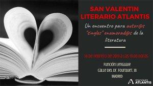 Invitación San Valentín Literario