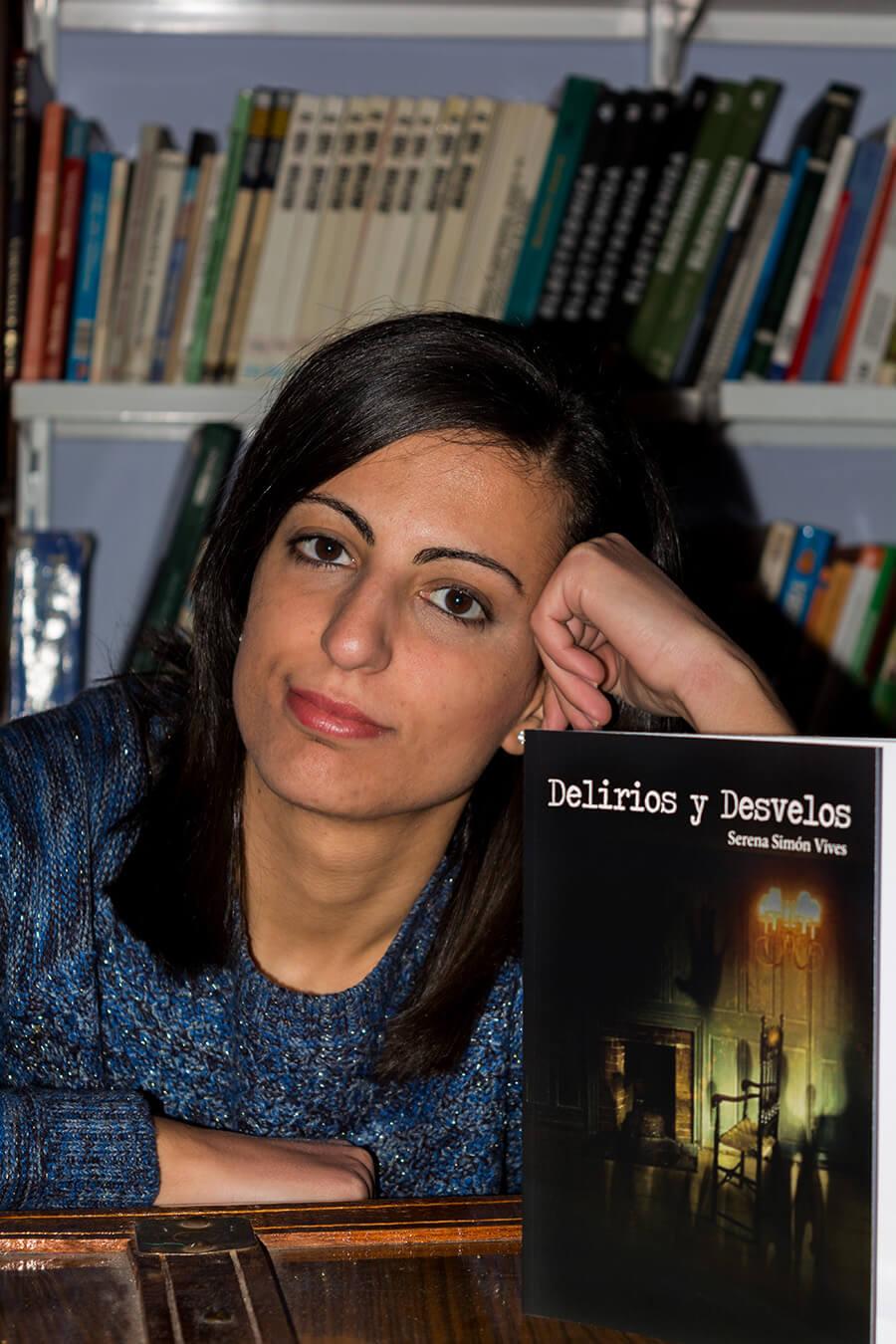 Serena Simón Vives, autora de Ediciones Atlantis