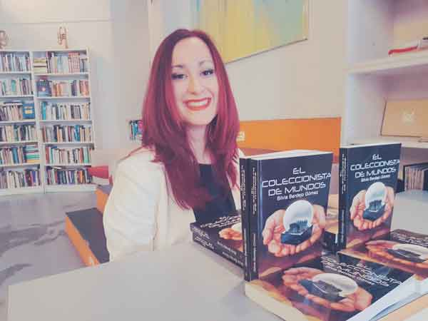 Silvia Berdejo Gómez, autora de Ediciones Atlantis