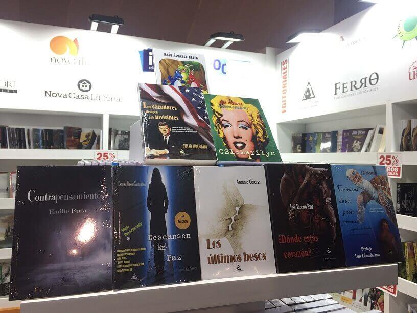 Titulos de Ediciones Atlantis en la Feria Internacional de Lima