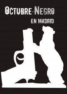Logo Festival Octubre Negro Madrid.
