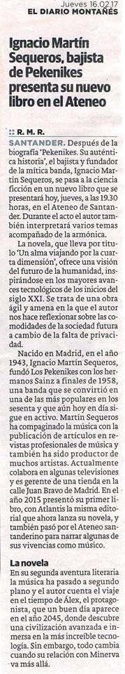 Un Alma Viajando por la Cuarta Dimensión (por Ignacio Martín ...